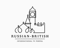 Russian British International TV Portal  by ancitis // #logo #graphicDesign
