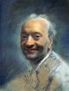 Quentin de La Tour : autoportrait