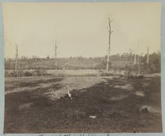 View on battlefield at Resaca Georgia 1864