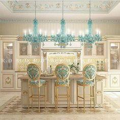 Luxury Kitchen Design - Let Us Take On Your Newburgh Kitchen . Luxury Kitchen Design, Luxury Kitchens, Interior Design Kitchen, Interior Decorating, Shabby Chic Kitchen, Home Decor Kitchen, Deco Disney, Style Français, French Style