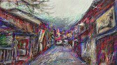 PCペイントで絵を描きました! Art picture by Seizi.N:   パソコンで画家の「向井潤吉」さん絵画風に、日本の家がある風景画をシリーズとして、お絵描きしていきたいと思います。  张氏金庸剧美女雅集——倾国倾城Ancient Chinese beauty http://youtu.be/nvVzv9NgyI0