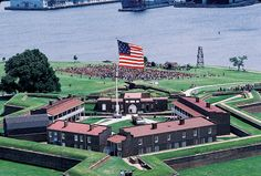 Ft McHenry National Monument and Historic Shrine, Maryland.  Where Star Spangled Banner was written.
