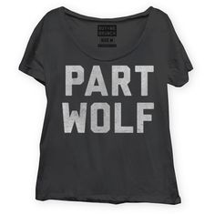 Part Wolf Tee Women's, $19.50, now featured on Fab.