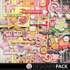 A Little Baby Girl digital scrapbooking kit by Mel Hains Designs