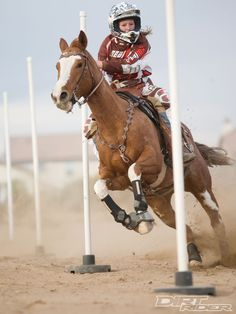 Now that's what i call a helmet ride 'em cowgirl!
