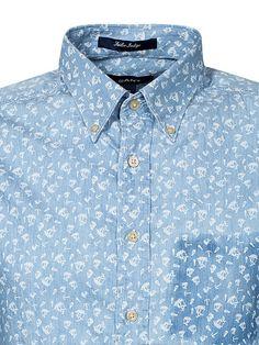 Printed Indigo Ls - Gant - Indigo - Shirts (Men) - Clothing - Men - NlyMan.com