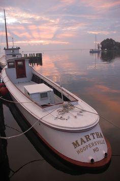 The Martha, A Hooper's Island Draketail (Chesapeake Bay Work Boat)
