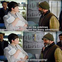 "Leroy and Mary Margaret - 5 * 1 ""Dark Swan"""
