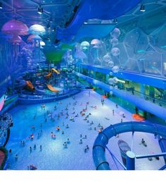 The Beijing National Aquatics Center, better known as the Water Cube.