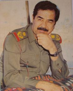 Iraqi President, Saddam Hussein, Workers Party, Iraq War, Modern History, Baghdad, The Republic, World History, Manchester United