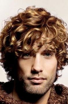 curly men's haircuts - Google Search