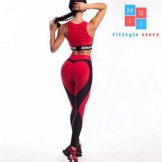 Le donne Teschio 3D Print Leggings Fitness Leggings Vita Alta Pantaloni Sportivi Allenamento