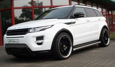 range rover custom | Arden Range Rover Evoque with stainless steel mesh grilles, side sills ...