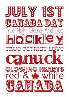 - Canada Day Subway Art  simple as that: Canada Day inspiration: 25 DIY ideas, crafts, printables and recipes for July 1st