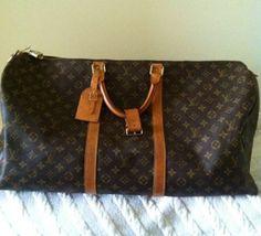 Louis Vuitton Travel/weekend / Gym Dark Brown Travel Bag $990