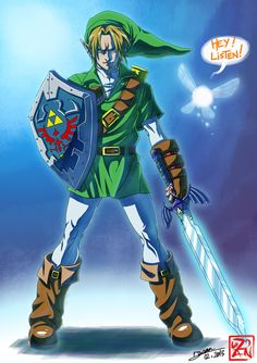 Link | Hero of Time by Dzoan