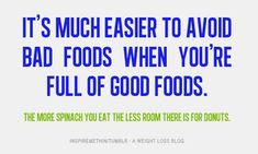 ...and real foods.