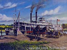 Old Steamboats On Pinterest Mississippi Rivers And Cruises