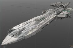 The RSI Pegasus-class Escort Carrier is the Empire's premier small carrier, capable of carrying a thirty-craft strike force deep behind enemy lines if necessary. Spaceship Design, Spaceship Concept, Concept Ships, Concept Art, Rpg Star Wars, Science Fiction, Sci Fi Anime, Space Engineers, Capital Ship