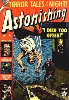 Cover for Astonishing (Marvel, 1951 series) #26