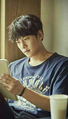 Ji Chang Wook 지창욱 and coffee