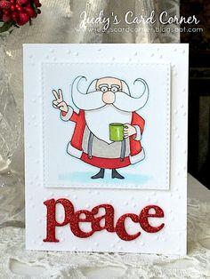 Judy's Card Corner: ATSAM #223 and the Winter Coffee Lovers Blog Hop - Day 2!