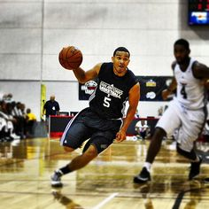 Cory Joseph playing hard in Vegas for Summer League
