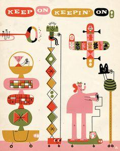 Vintage Illustration Poster