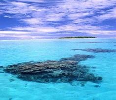 Le migliori spiagge e isolette del 2014 (Sarah Baxter, autore Lonely Planet). Laguna di Aitutaki, Isole Cook © Fotografia di Gabriella Pezzuto
