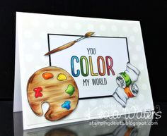 Color My World by LittleSeaOtter - Cards and Paper Crafts at Splitcoaststampers