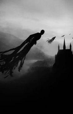 harry potter, hogwarts, and dementor image Harry Potter Tumblr, Harry Potter Tattoos, Harry Potter Dementors, Harry Potter Pictures, Harry Potter Fandom, Harry Potter Hogwarts, Harry Potter World, Magia Harry Potter, Arte Do Harry Potter