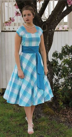 Womens Teens Sewing Pattern swing dress circle by SewChicPatternCo