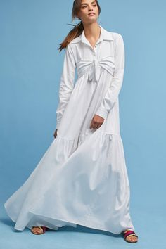 Shop the Mara Hoffman Poplin Tie-Front Maxi Shirt Dress and more Anthropologie at Anthropologie today. Read customer reviews, discover product details and more.