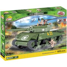 Cobi Small Army M10 Wolverine Kit Construction Blocks Building Kit