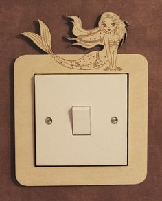 Decorative switch surrounds by PimpernelPuzzles on Etsy