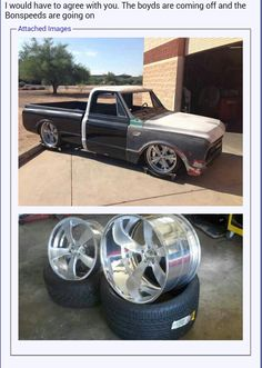 67-68 chevy c10 truck on rims °~°