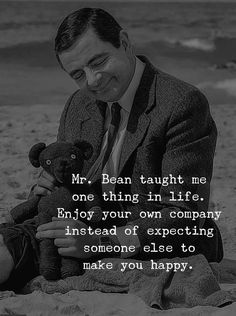 30 best quotes about happiness of life Joker Quotes, Wise Quotes, Words Quotes, Quotes To Live By, Motivational Quotes, Funny Quotes, Inspirational Quotes, Mr Bean Quotes, Alone But Happy Quotes