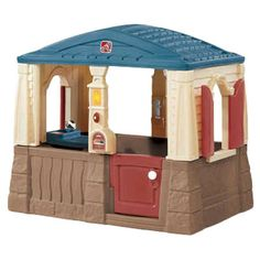 Found it at Wayfair - Neat & Tidy Cottage in Blue & Tan