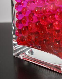 Hot Pink Jumbo Water Pearls   (water holding vase gems) $14.89  (5.2 oz/ 150ml)