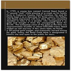 Gold discovery fact