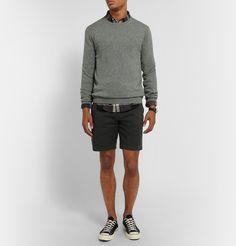 Sweater + shirt + short
