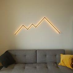 Deco Luminaire, Luminaire Design, Home Interior Design, Interior And Exterior, Lampe Retro, Appartement Design, Wall Decor, Room Decor, My New Room