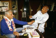 19860911-17 Sri Chinmoy & Bernstein