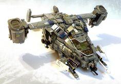 Lego Sci-Fi Dropship