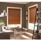 Home Decorators Collection Cut-to-Width Maple in. Premium Faux Wood Blind - in. W x 48 in. L (Actual Size 32 in. W 48 in. L ) - 10793478091584 - The Home Depot Cheap Blinds, Cheap Curtains, Blinds Sale, House Blinds, Blinds For Windows, Window Blinds, Blinds Curtains, Window Coverings, Window Treatments