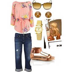 Spring Casual, created by gsouza17 on Polyvore