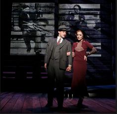 Bonnie and Clyde - Jeremy Jordan and Laura Osnes Bonnie And Clyde Musical, Bonnie And Clyde Photos, Bonnie Clyde, New Broadway Musicals, Musical Theatre Broadway, Theatre Nerds, Theater, Laura Osnes, Theatre Problems