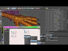 Cinema 4D Rigging 08 - Finger Controls using XPresso - YouTube