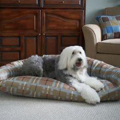 Brutus Tuff Semi Circle Dog Bed