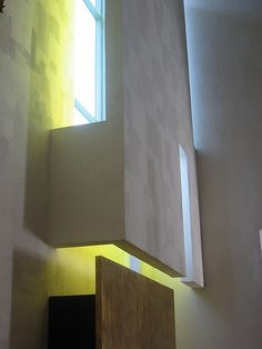 See. The changing colors + light. Chapel of St. Ignatius. Seattle, WA. Steven Holl. 1997.